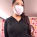 巨乳マスク美人若妻★