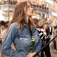 渋谷でロシア人Gカップ美女を騙しナンパ♪