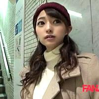 新宿でシロウト美少女を騙しナンパ中出し♪
